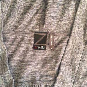 Zella Hooded V Neck Tunic